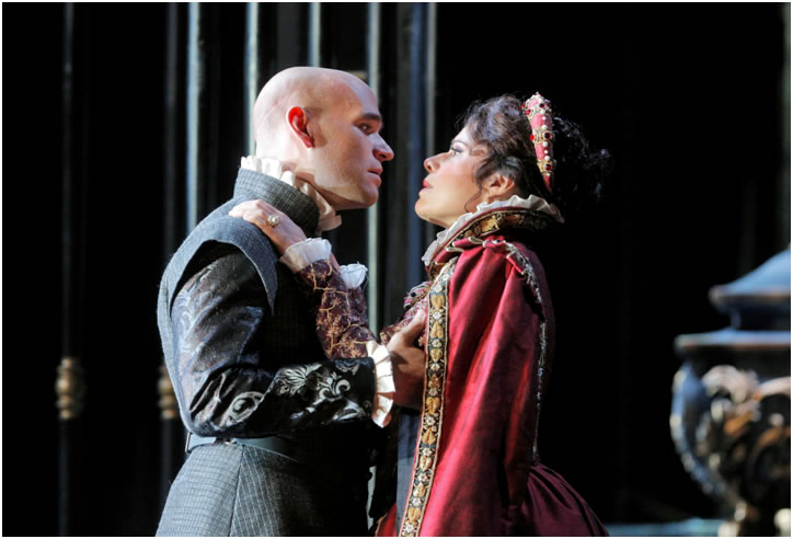Michael Fabiano as Don Carlo Soprano Martinez  by Cory Weaver-SF Opera